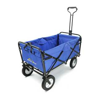 Best Collapsible Folding Garden Cart #1: Summates SM8030100X